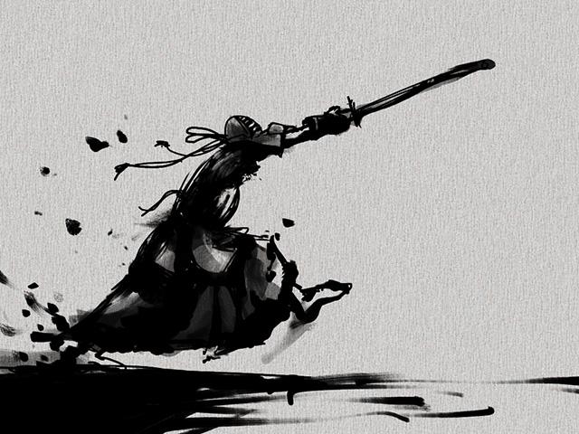 剣道面打ち